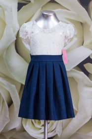 Платье детское 058/2 белый