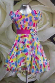 Платье детское 061/7 малиновый