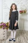 Школьное платье пл/022/2 черный