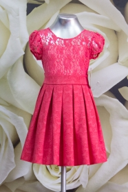 Платье детское 058/3 коралл