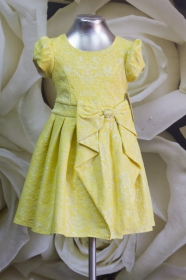 Платье детское 060/3 желтый