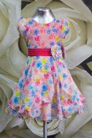 Платье детское 061/8 красный