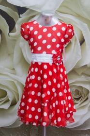 Платье 061/12 красное