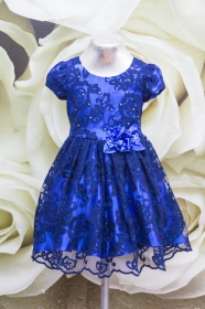 Платье 068/1 синий