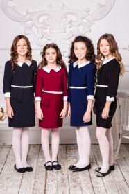 Школьное платье пл-012